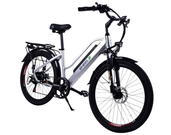 Bicicleta Eléctrica Rotterdam 26 plata