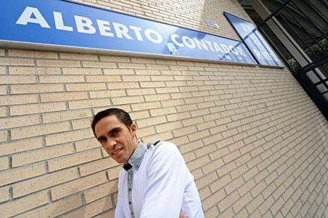 Alberto Kontador u Moskvi