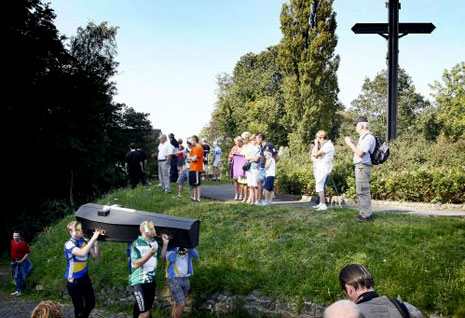 Muur – sahrana voljenog brda
