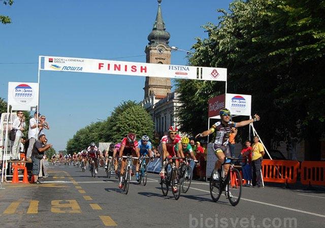 Tour de Serbie 2012 stage 5 Milići-Ruma 154km