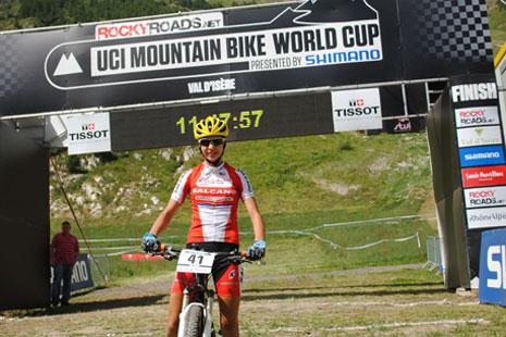 Jovana Crnogorac 21. na Svetskom kupu u Val d`Izeru