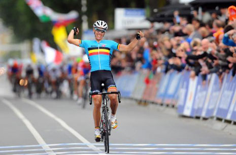 WCH – Limburg 2012 – King Philippe Gilbert !