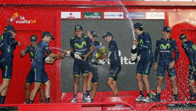 Vuelta'14 E1 TTT