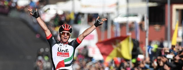 Giro'17 retrospektiva 3-6 Etape