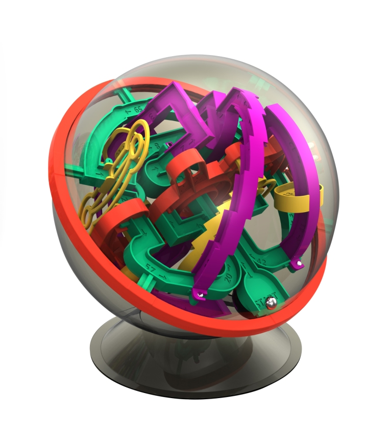 Stimulate Cognitive Development With 3D Sphere Mazes
