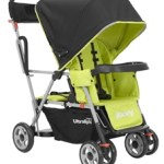 New Joovy Caboose Ultralight Stand-On Tandem Stroller Makes Traveling with Two Easy