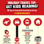 10 Tips to Keep Kids Learning On the Go this Holiday #RaiseAReader