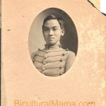 Recovered Photo of First Chinese West Point Cadet My Great Grandfather
