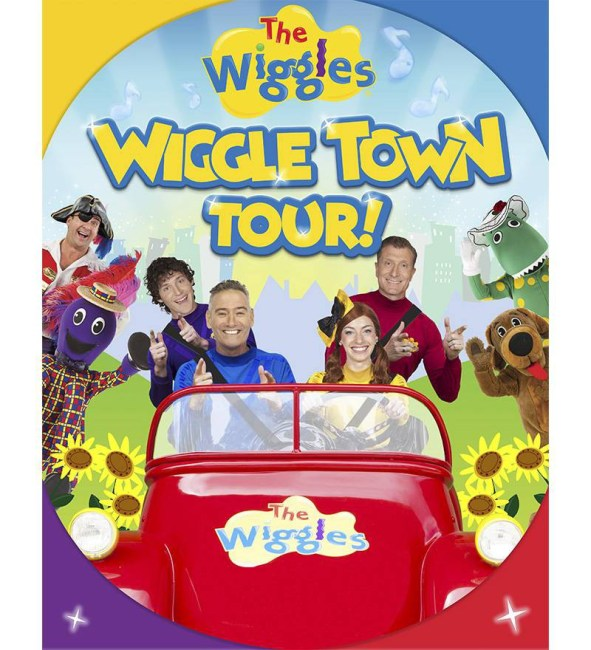 Wiggle Town Wiggles Tour Poster Wiggles