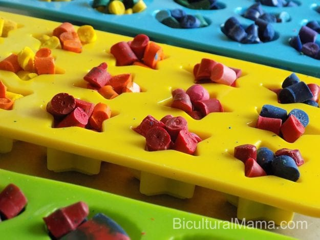 Bicultural Mama Filled Crayon Molds