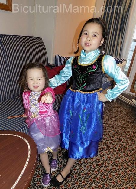 Bicultural Mama Girls Princess Dresses
