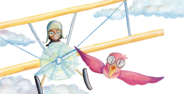 bessie queen of the sky picture book empowering