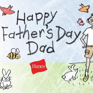 Hanes Father's Day Giveaway: $50 Visa Card, Shirts, Socks