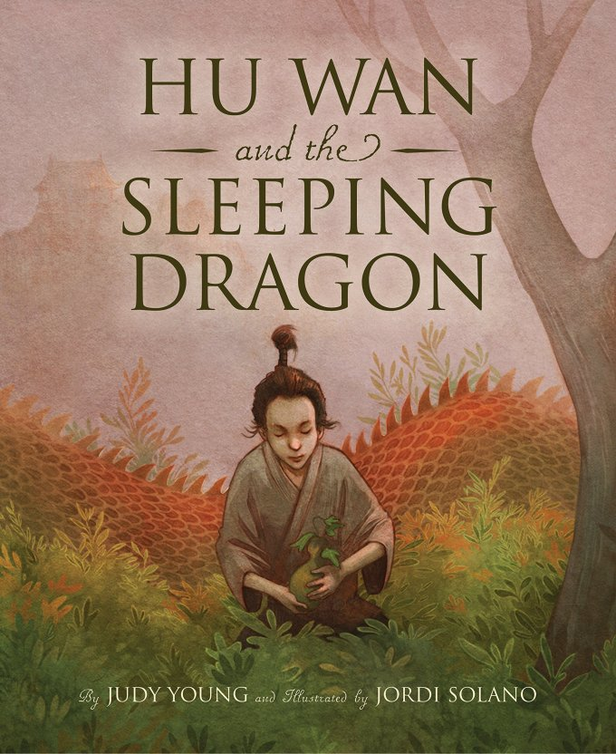 hu wan and the sleeping dragon picture book