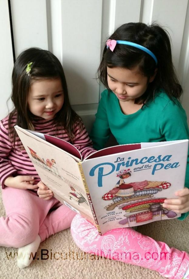 La Princesa and the Pea Bicultural Mama