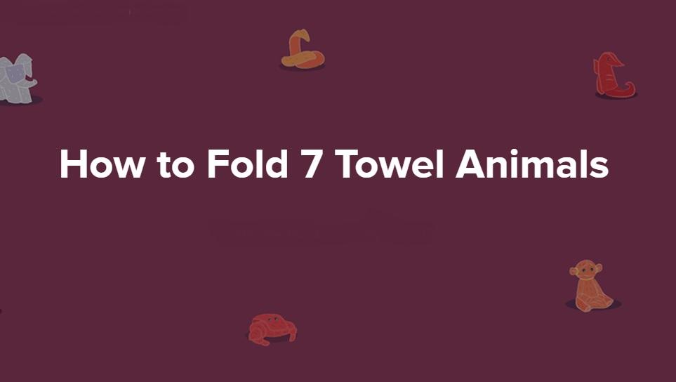 Towel Origami Animal / Creative Towel Folding Instructions ... | 544x963