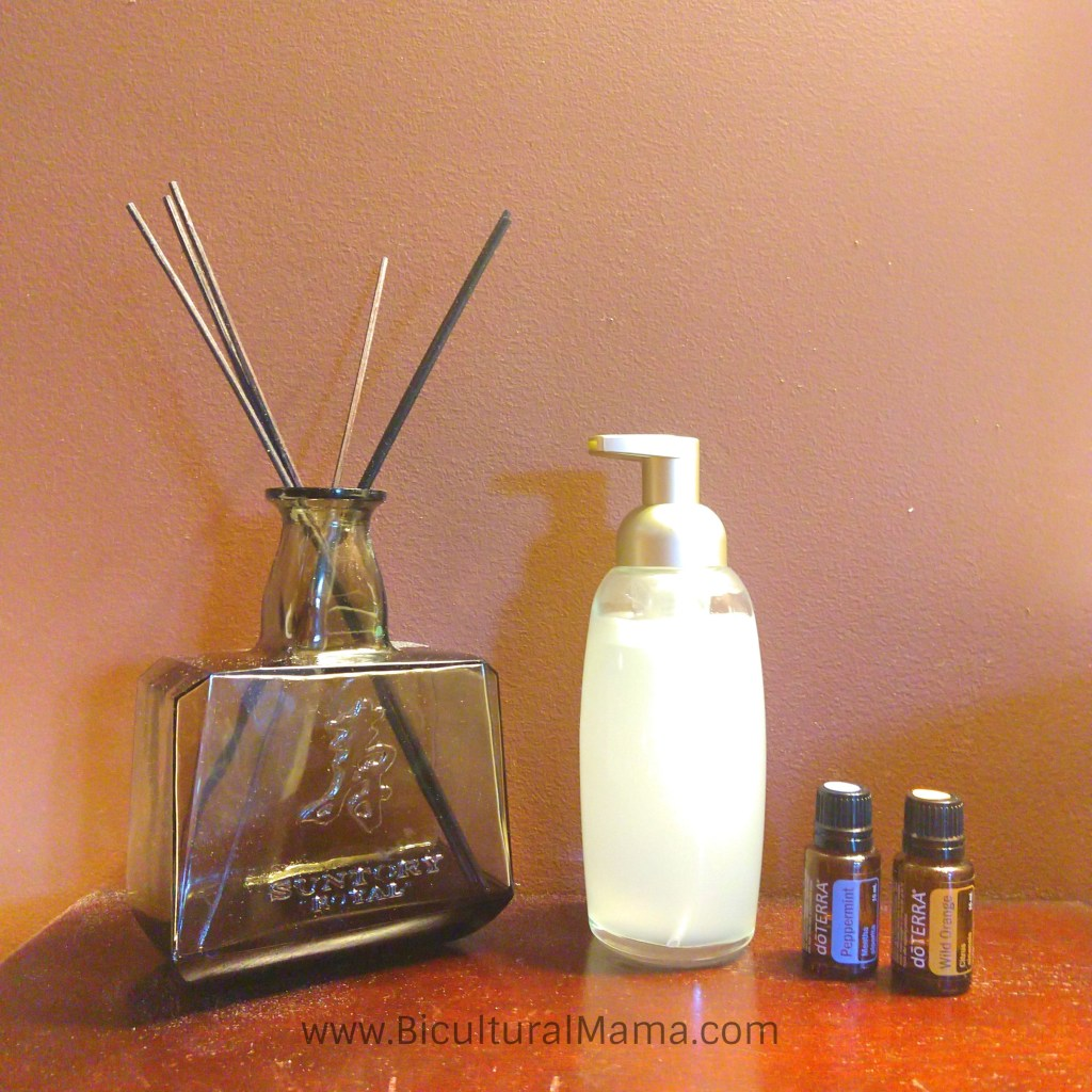 Easy DIY Foaming Hand Soap With Essential Oils