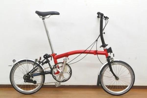 極上品 BROMPTON ブロンプトン S2L 2014年モデル 折畳自転車