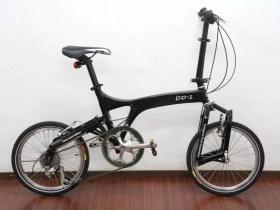 r&m BD-1 8speed 折畳み自転車 ブラック