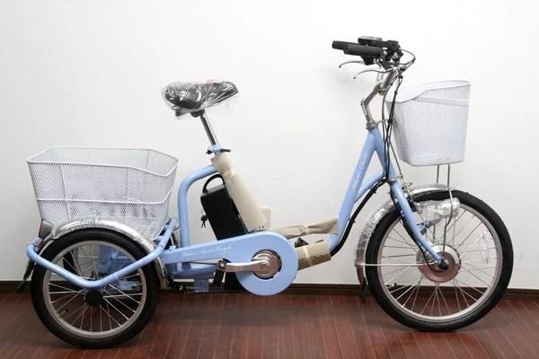 未使用 アシらくチャーリー 電動アシスト3輪自転車