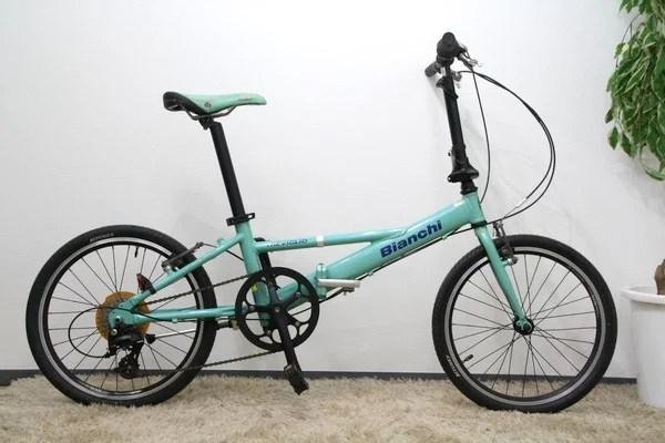 Bianchi ビアンキ TREVIGLIO 折り畳み自転車