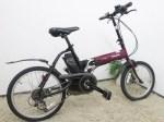 Panasonic 折畳み電動アシスト自転車(18/20型)オフタイム