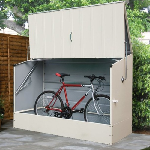 rubbermaid bicycle storage shed is it