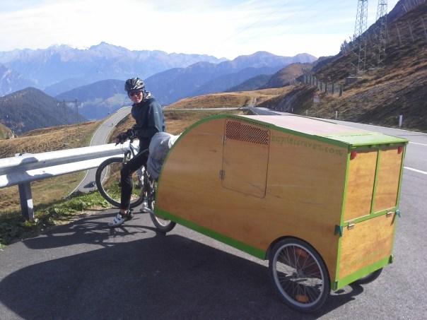 andreas, Bicycle caravan, Bicycle camper, Bikeavan, Fietscaravan, Fahrradwohnwagen, Fahrradkarawane, vélo caravane, caravana de bicicletas, 自行车车队,自行車車隊