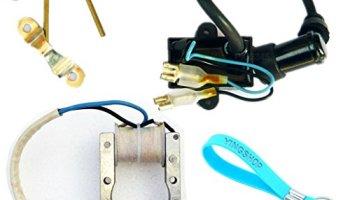 JRL Ignition Coil Spark Plug CDI Box Kit for 49cc 50cc 60cc