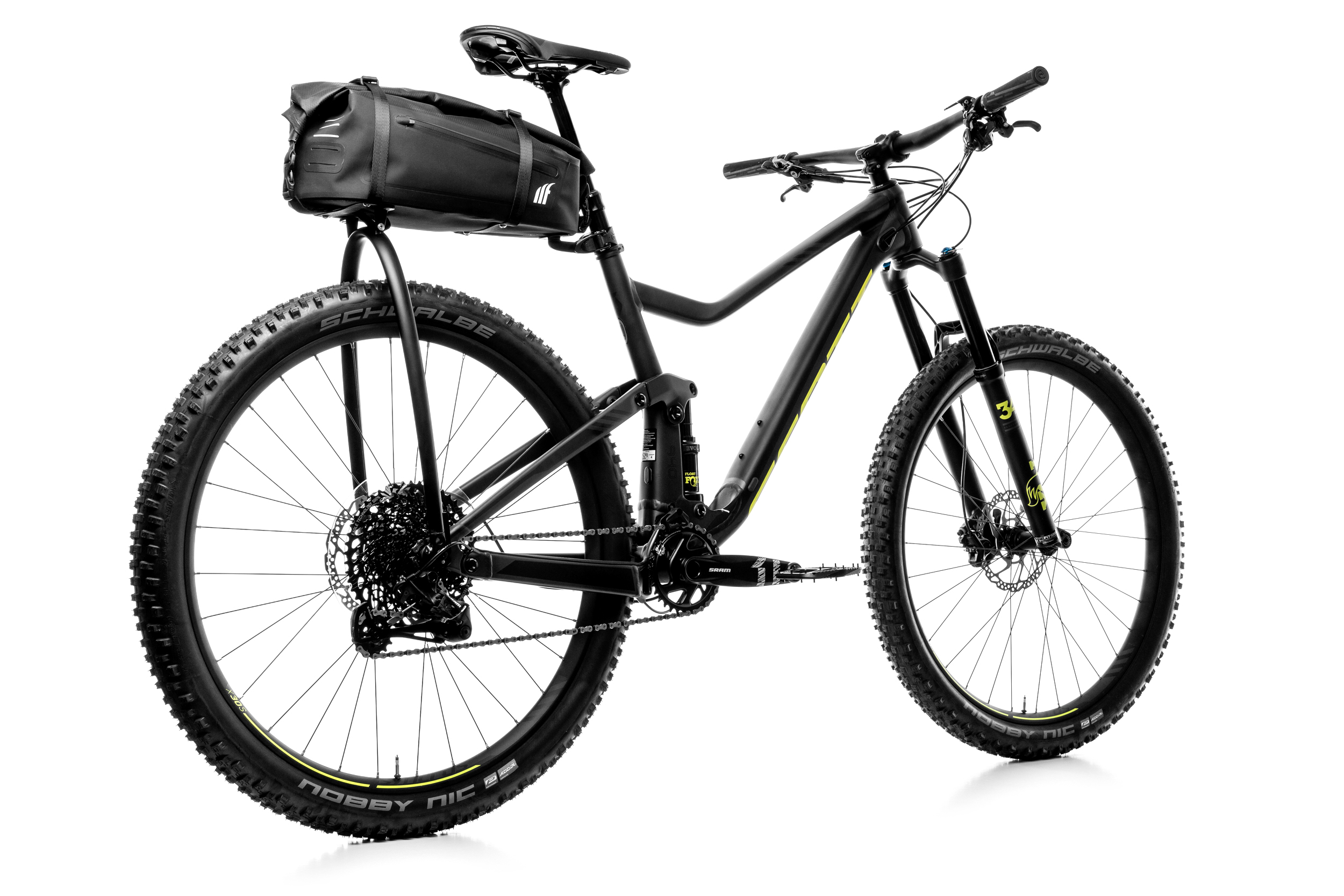 Tailfin Offers Aeropack Mountain Bike Pack On Kickstarter