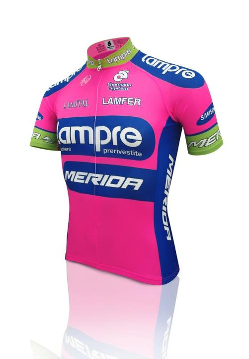 Champion System To Outfit Lampre Merida Team Bicycle