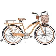 Huffy Champion 26″ Women's Cruiser Bike, Butterscotch