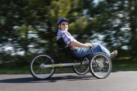 TerraTrike Rover 8 Speed Recumbent Trike (Nexus Hub)
