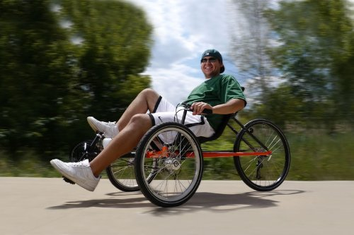 TerraTrike Rambler 8 Speed Recumbent Trike (Nexus Hub)