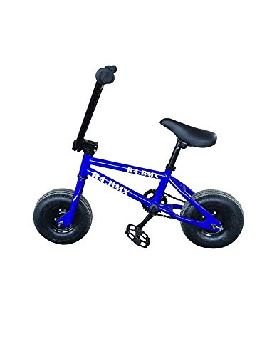 R4 Blue Pro Mini Bmx Stunt Jump Trick Bike 10″ Tires W/ Pegs