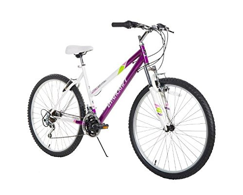 Dynacraft Women's 26″ 21 Speed Alpine Eagle Bike, 19″/One Size, Purple/White