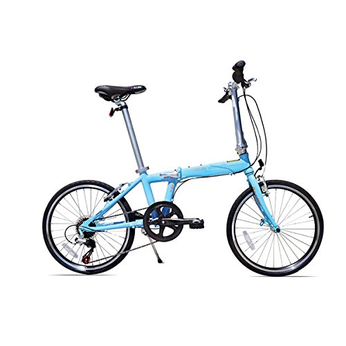 Allen Sports Urban X 7-Speed Aluminum Framed Folding Bicycle