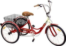 Komodo Cycling 24″, 6-speed Adult Tricycle #7002