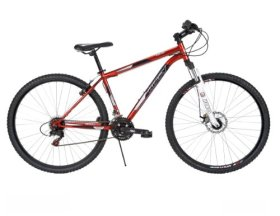 Huffy Men's Bantam Mountain Bike, Mirror Red, 29-Inch/Large