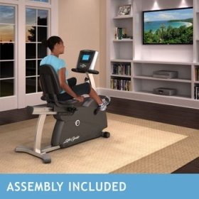 Life Fitness R1 Lifecycle Recumbent Bike – Assembly Included