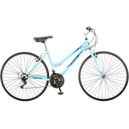700c Roadmaster Adventures Women's Hybrid Bike, Light Blue