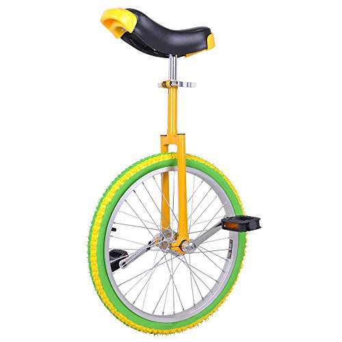 20 Inch Wheel Frame Mountain Bike Unicycle – Lemon Lime