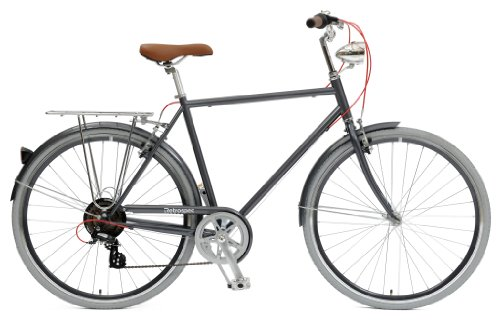 Retrospec Bicycles Diamond Frame Sid-7 Hybrid Urban Commuter Road Bicycle