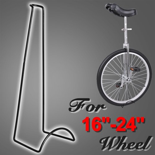 16″- 24″ Heavy Duty Black Display Stand Rack for Unicycle