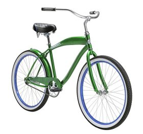 Diamondback Bicycles Men's 2015 Drifter Complete Cruiser Bike, 26-Inch/One Size, Green