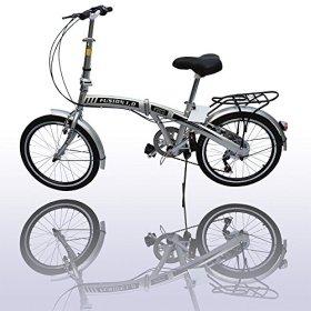 American Phoenix 20″ Folding Bike 6 Speed Fold Storage Bicycle