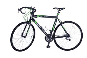Merax 21-Speed 700C Aluminum Road Bike Racing Bicycle, 58CM Green
