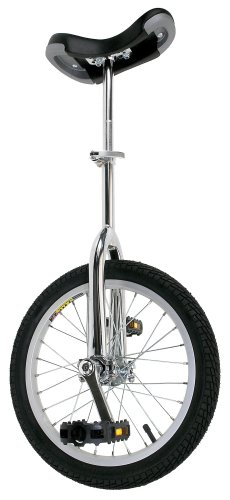 Fun Chrome 16″ Unicycle with Alloy Rim