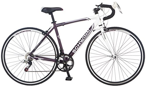 Schwinn Women's Varsity 1300 Road Bike, Purple/White, 18″/One Size