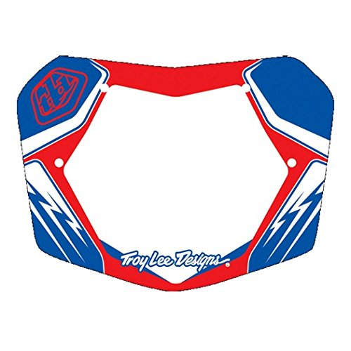 Troy Lee Designs TLD BMX Plate Red/White/Blue 7″